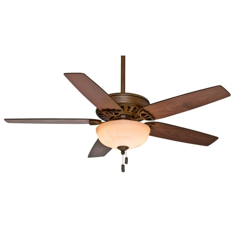 Casablanca Concentra Gallery 54-in Acadia Downrod or Close Mount Indoor Ceiling Fan with Light Kit