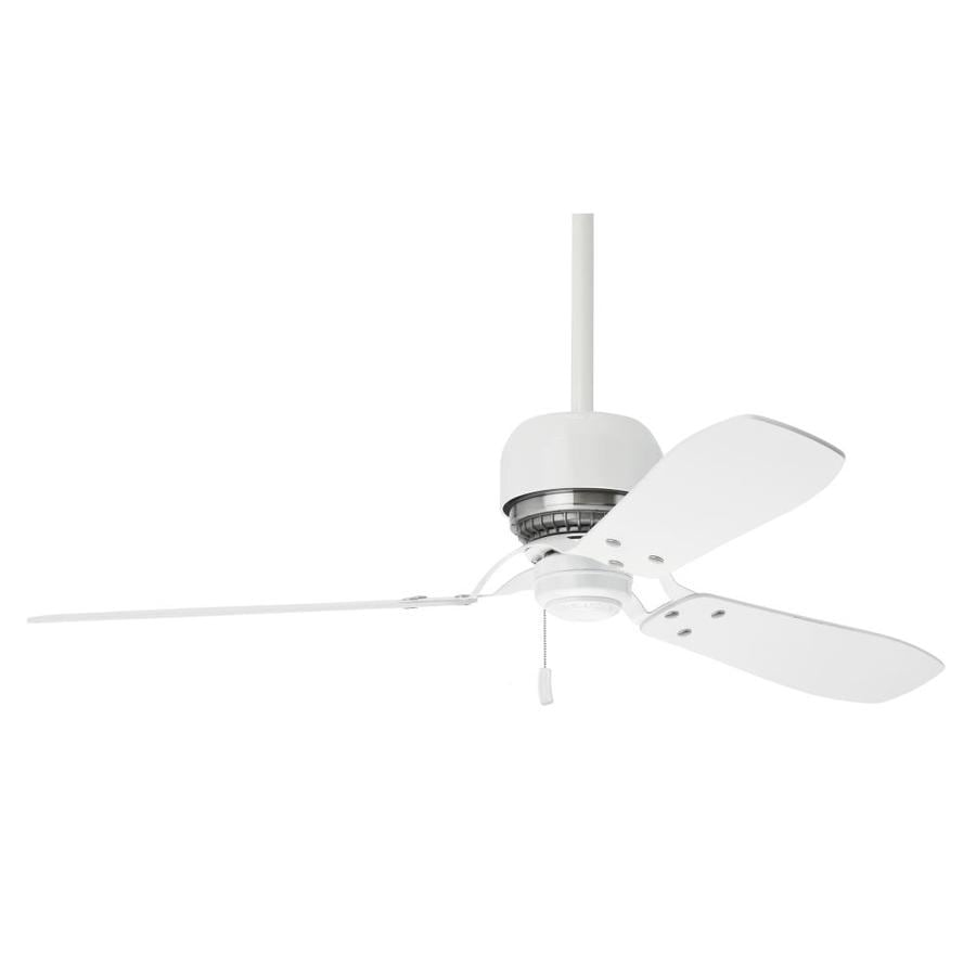 Casablanca Tribeca 52-in Snow White Downrod Mount Indoor Residential Ceiling Fan (3-Blade) ENERGY STAR