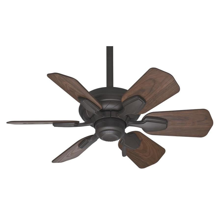 Casablanca Wailea 31-in Brushed Cocoa Downrod or Close Mount Indoor/Outdoor Ceiling Fan