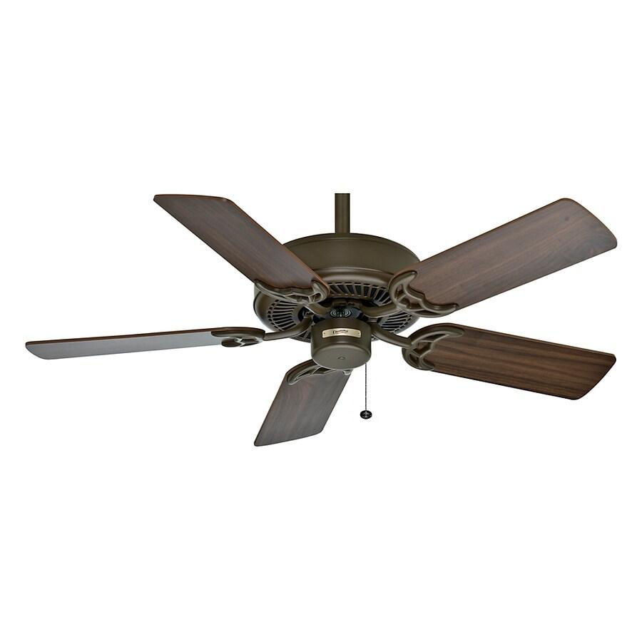 Casablanca 42-in Four Seasons III Oil Rubbed Bronze Ceiling Fan ENERGY STAR