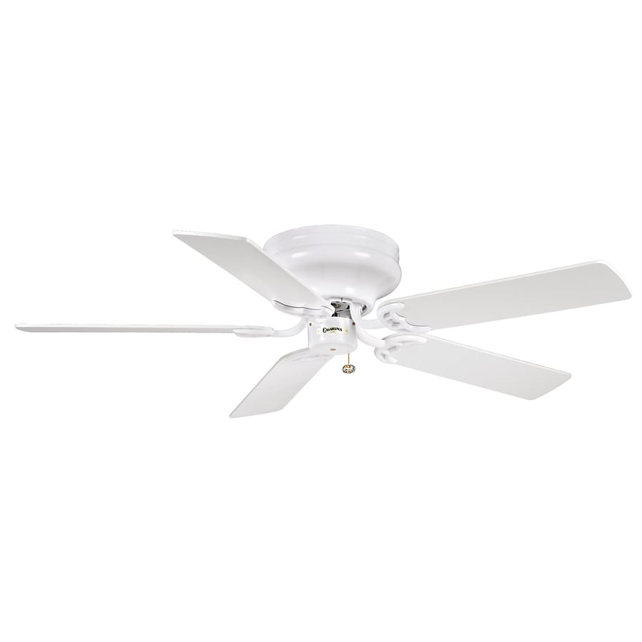 Casablanca 42-in Four Seasons III Hugger Snow White Ceiling Fan