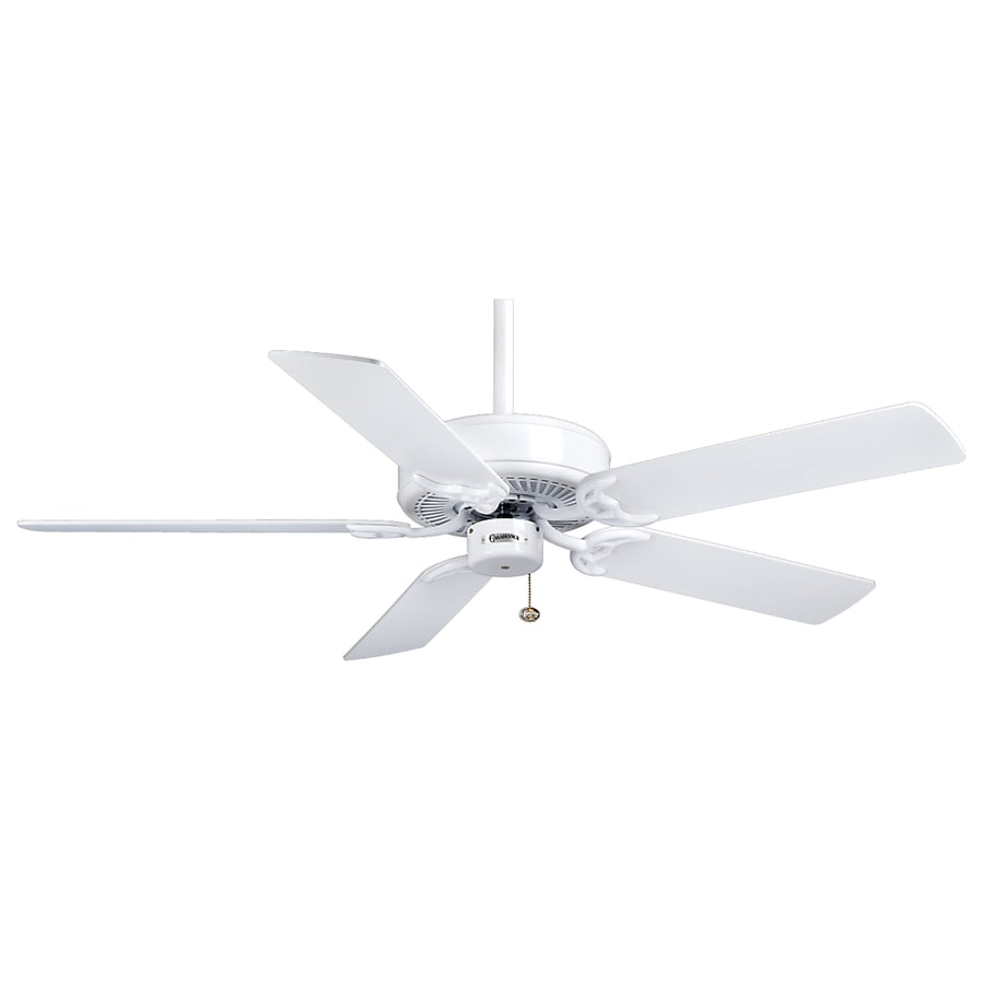 Casablanca 52-in Four Seasons III Snow White Ceiling Fan ENERGY STAR