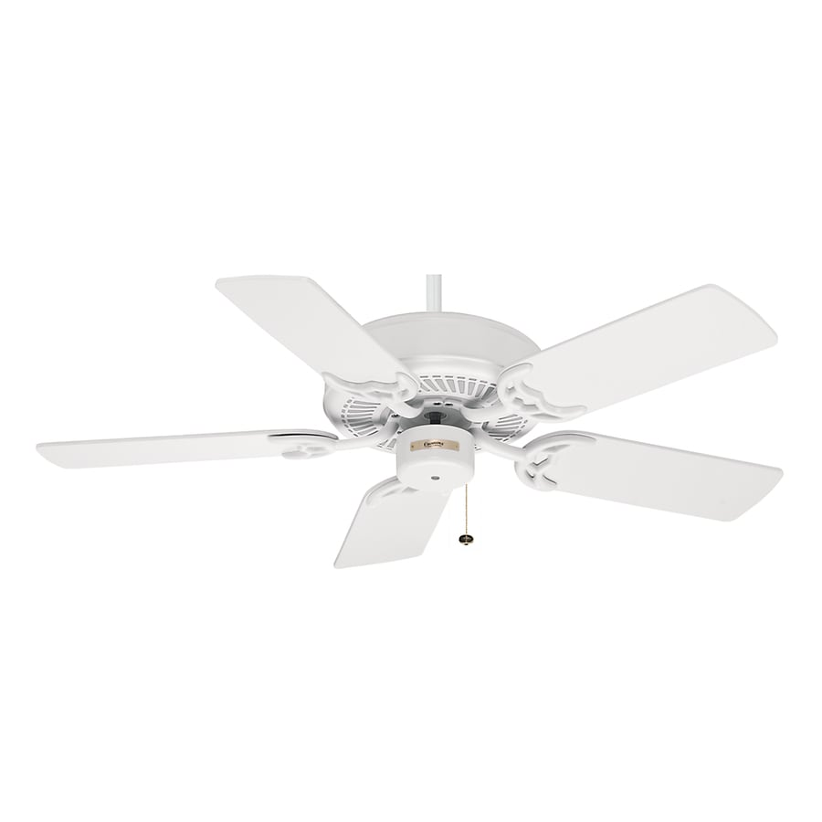 Casablanca 42-in Four Seasons III Snow White Ceiling Fan ENERGY STAR