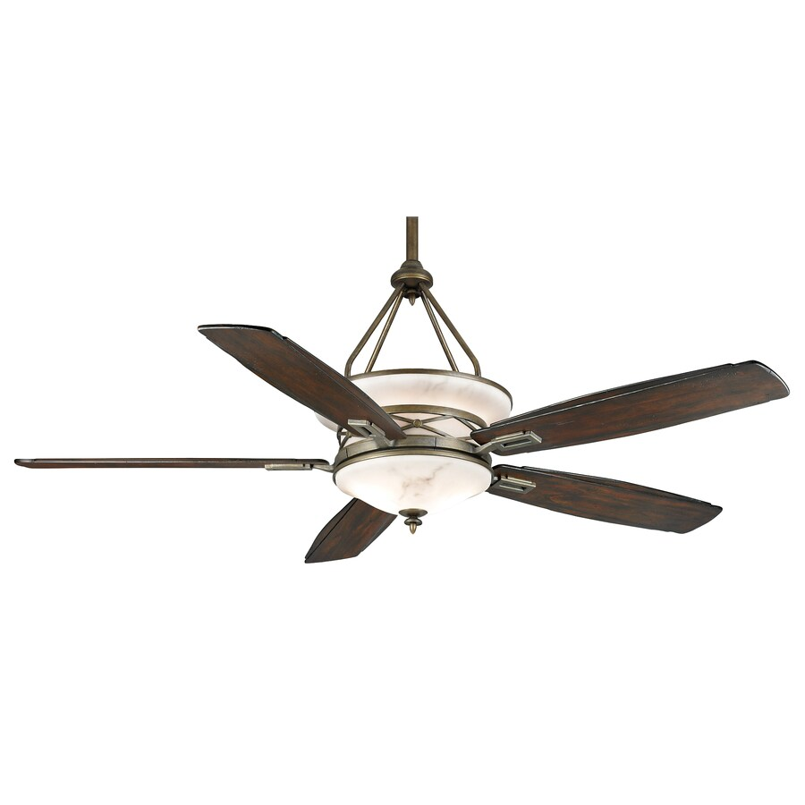 shop casablanca atria 68 in aged bronze downrod mount indoor outdoor ceiling fan with light kit. Black Bedroom Furniture Sets. Home Design Ideas