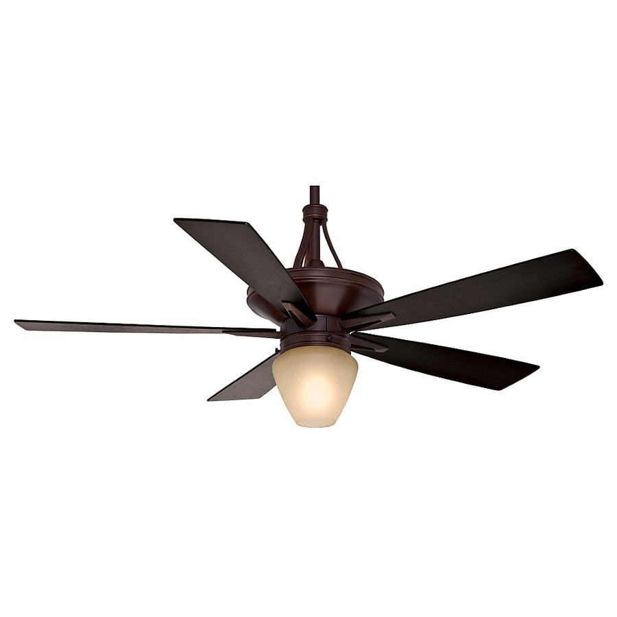 Casablanca Colorado 60-in Brushed Cocoa Downrod Mount Indoor Ceiling Fan with Light Kit and Remote