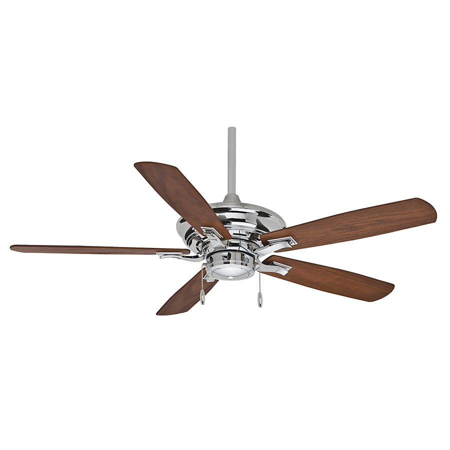 Casablanca 54-in Academy Chrome Ceiling Fan ENERGY STAR