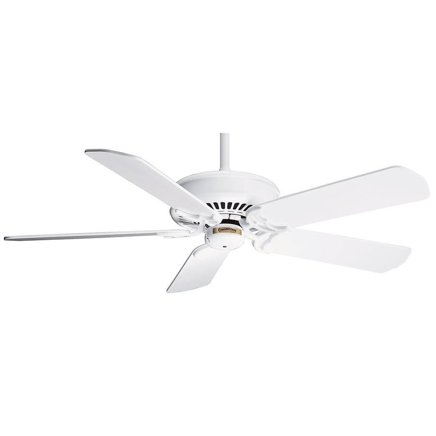Casablanca 54-in Panama DC Snow White Ceiling Fan with Remote ENERGY STAR
