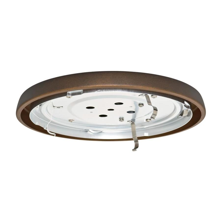 Casablanca Low Profile 1-Light Maiden Bronze Fluorescent Ceiling Fan Light Kit  sc 1 st  Loweu0027s & Shop Casablanca Low Profile 1-Light Maiden Bronze Fluorescent ...