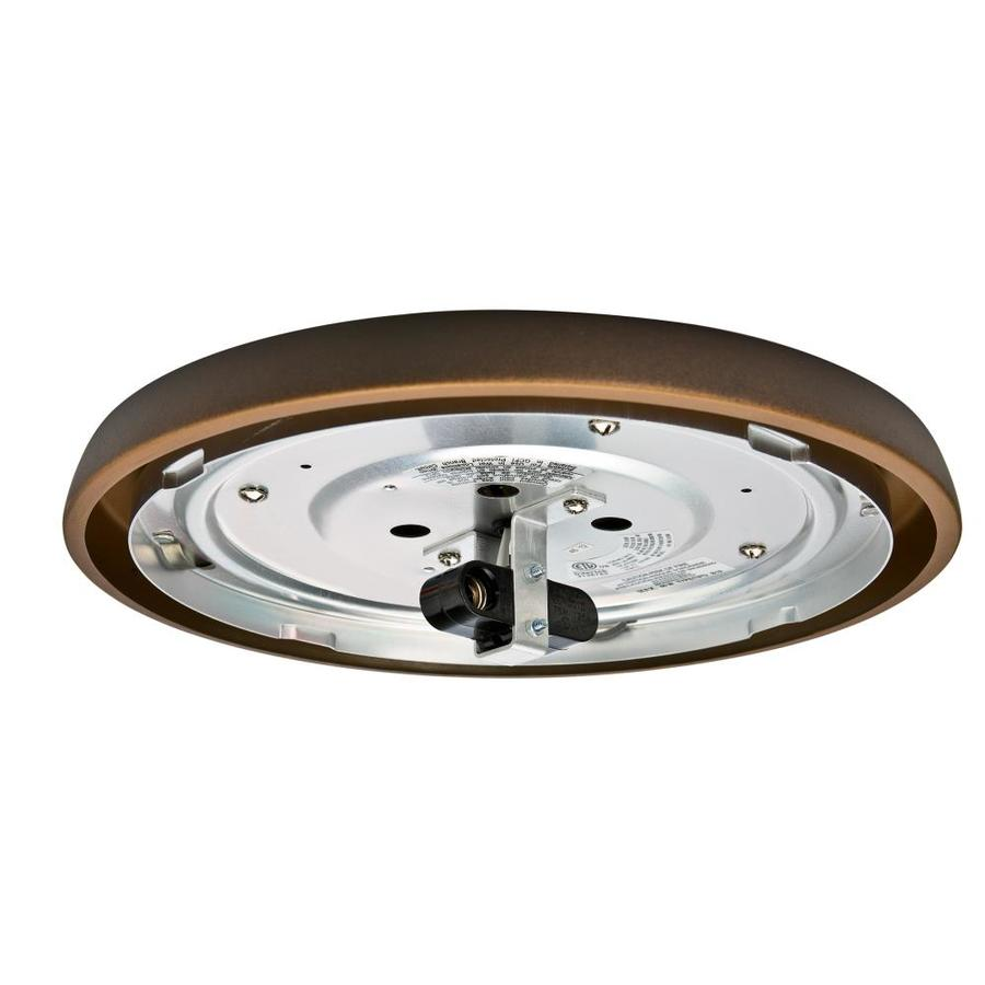 Casablanca Low Profile 2-Light Maiden Bronze Incandescent Ceiling Fan Light Kit