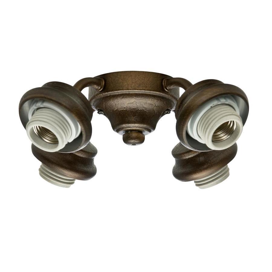 Ceiling Fan Light Parts : Shop casablanca light provence crackle fluorescent