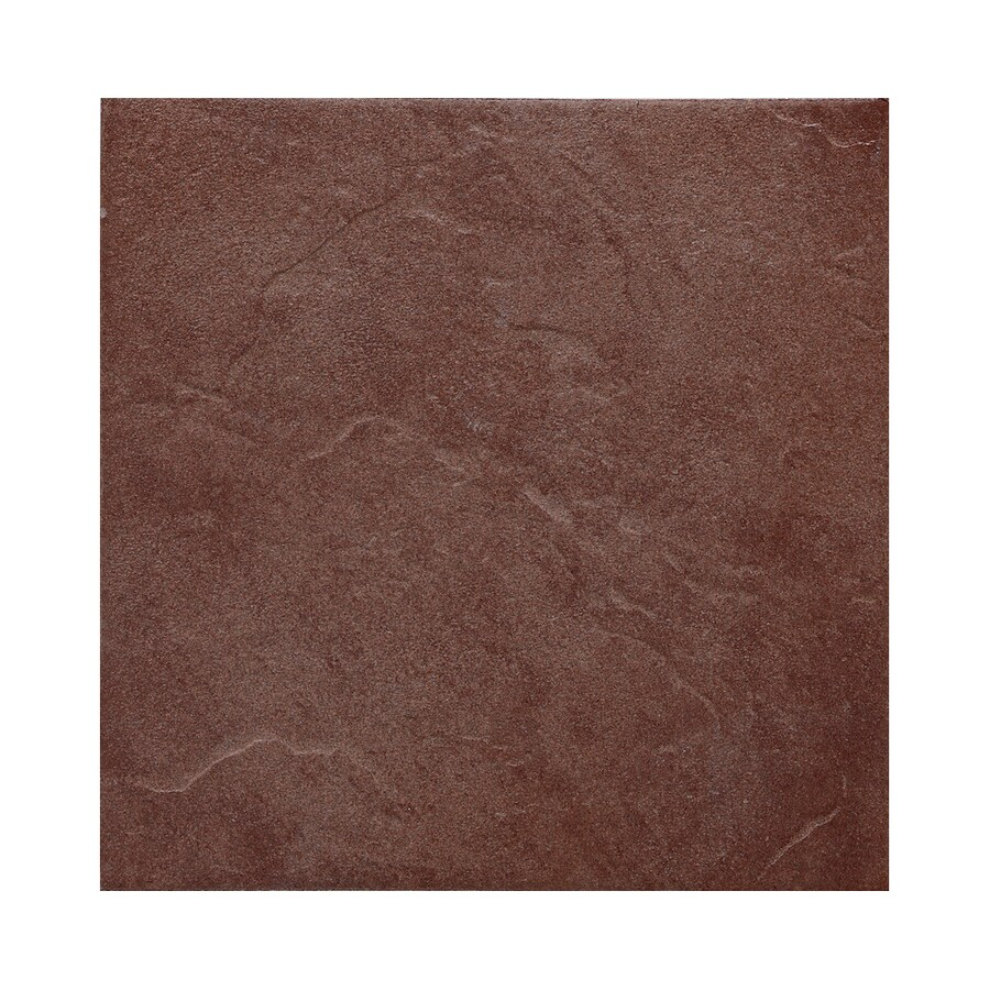 American Olean 8-Pack Shadow Bay Sunset Cove Thru Body Porcelain Floor Tile (Common: 18-in x 18-in; Actual: 17.75-in x 17.75-in)