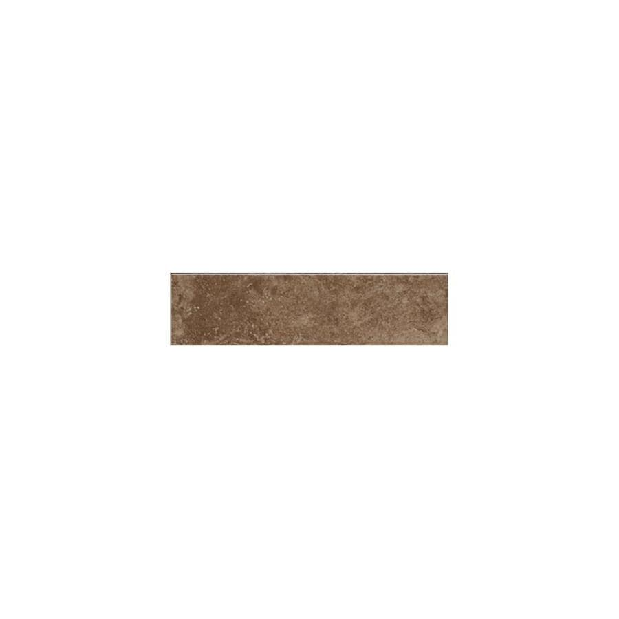 American Olean Pozzalo Weathered Noce Ceramic Mud Cap Tile (Common: 2-in x 6-in; Actual: 2-in x 6-in)