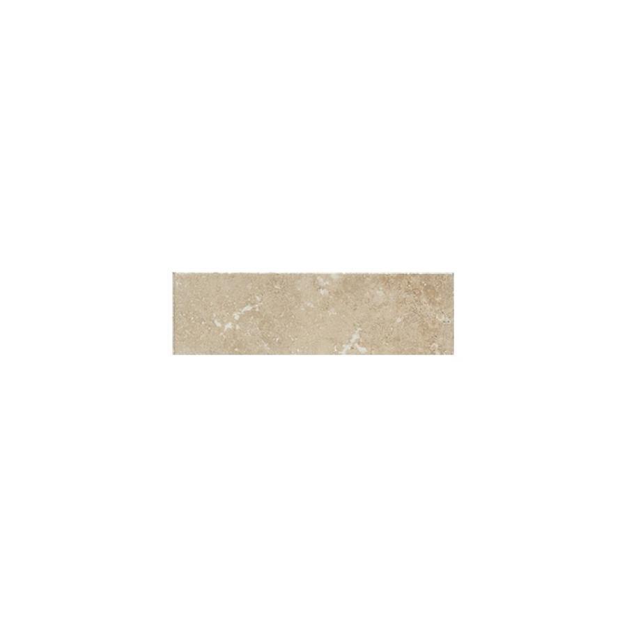 American Olean Pozzalo Manor Gray Ceramic Bullnose Tile (Common: 3-in x 12-in; Actual: 3-in x 12-in)