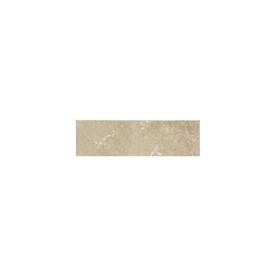 American Olean Pozzalo Manor Gray Ceramic V Cap Tile (Common: 2-in x 6-in; Actual: 2-in x 6-in)
