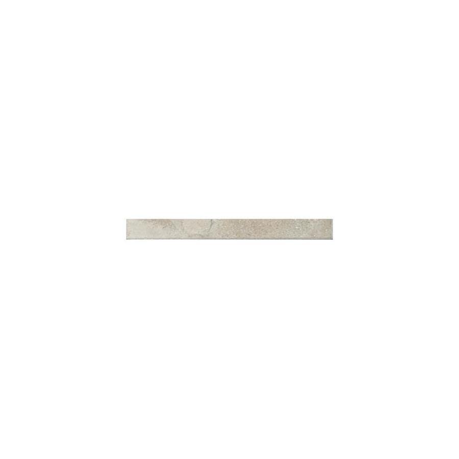 American Olean Pozzalo Sail White Ceramic Quarter Round Tile (Common: 1-in x 6-in; Actual: 1-in x 6-in)