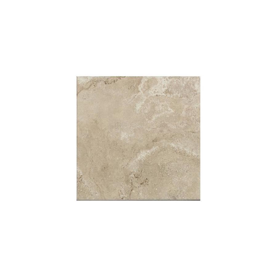 American Olean Pozzalo Coastal Beige Ceramic Bullnose Tile (Common: 3-in x 3-in; Actual: 3-in x 3-in)