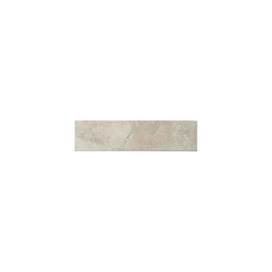 American Olean Pozzalo Sail White Ceramic Bullnose Tile (Common: 2-in x 6-in; Actual: 2-in x 6-in)