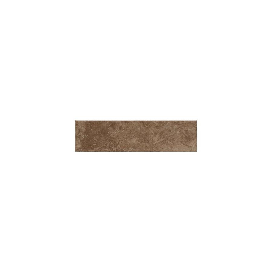 American Olean Pozzalo Weathered Noce Ceramic Bullnose Tile (Common: 2-in x 6-in; Actual: 2-in x 6-in)