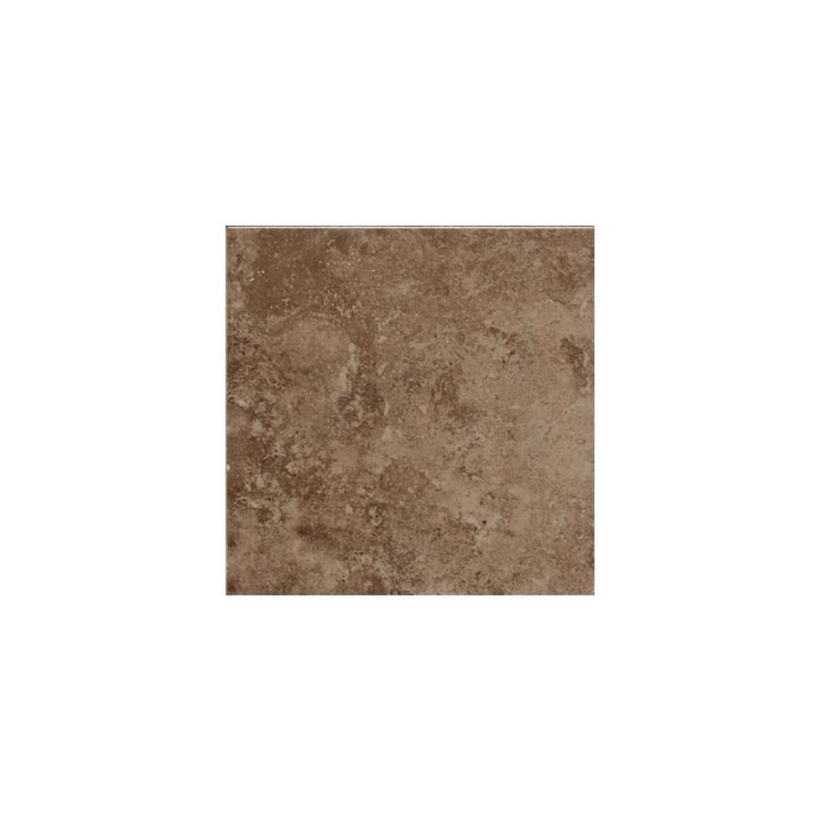 American Olean Pozzalo Weathered Noce Ceramic Bullnose Tile (Common: 6-in x 6-in; Actual: 6-in x 6-in)