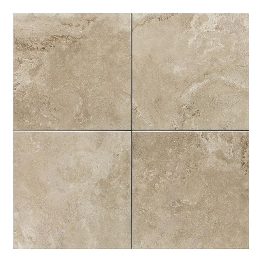 American Olean Pozzalo 50-Pack Coastal Beige Ceramic Wall Tile (Common: 6-in x 6-in; Actual: 6-in x 6-in)