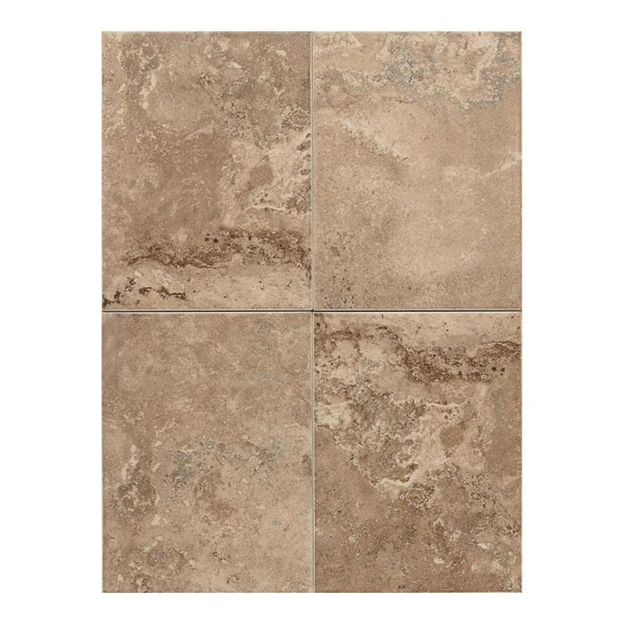 American Olean Pozzalo 15-Pack Weathered Noce Ceramic Wall Tile (Common: 6-in x 14-in; Actual: 8.93-in x 11.93-in)