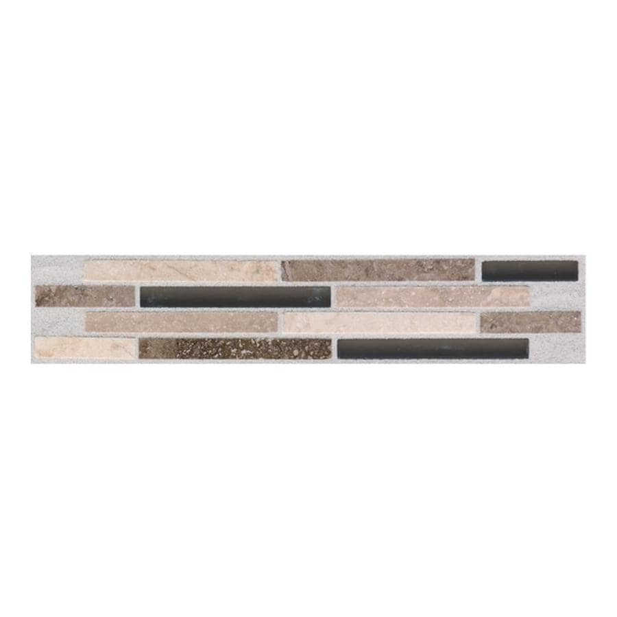 American Olean Pozzalo Universal Ceramic Listello Tile (Common: 1-in x 9-in; Actual: 1.81-in x 9.01-in)