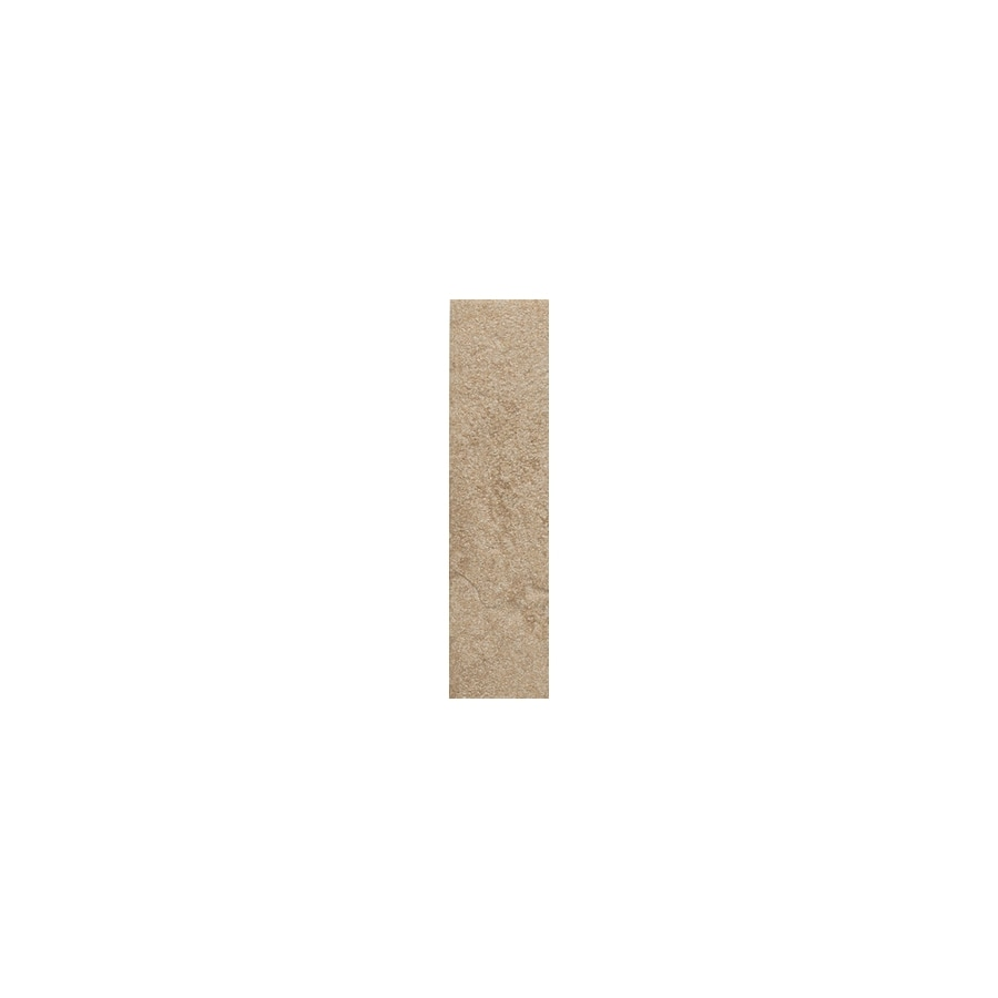 American Olean Shadow Bay Beach Sand Thru Body Porcelain Bullnose Tile (Common: 1-in x 6-in; Actual: 1-in x 6-in)