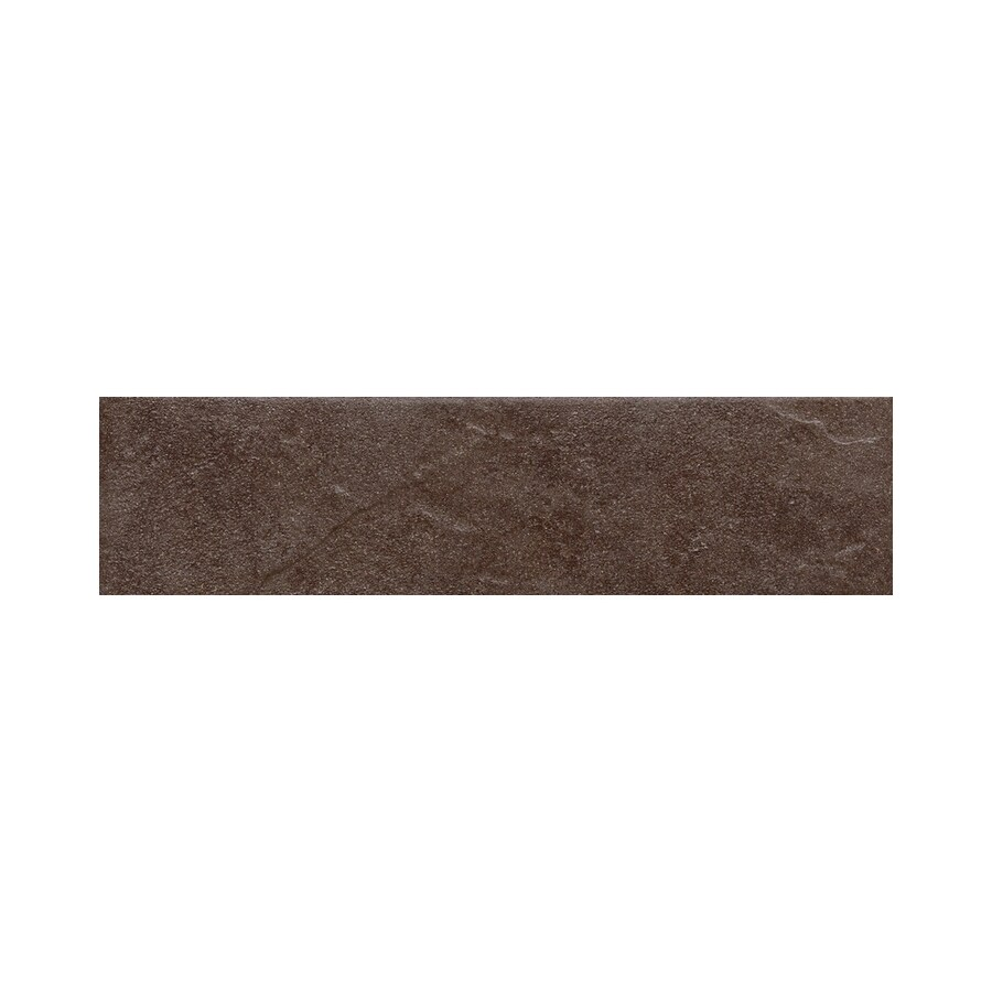 American Olean Shadow Bay Fishing Pier Thru Body Porcelain Bullnose Tile (Common: 3-in x 12-in; Actual: 2.87-in x 11.81-in)