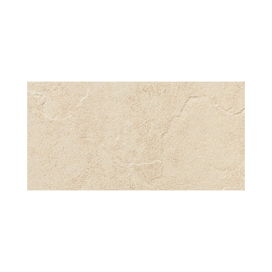American Olean Shadow Bay Morning Mist Thru Body Porcelain Bullnose Tile (Common: 8-in x 10-in; Actual: 6-in x 12-in)