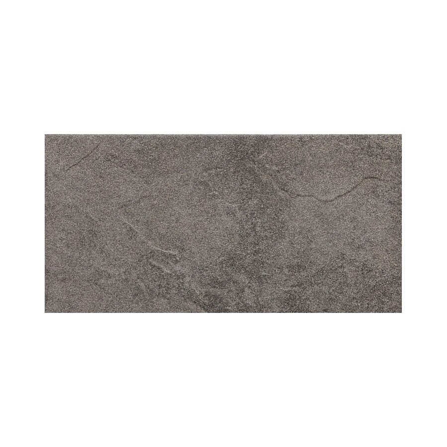 American Olean Shadow Bay Rocky Shore Thru Body Porcelain Bullnose Tile (Common: 8-in x 10-in; Actual: 6-in x 12-in)