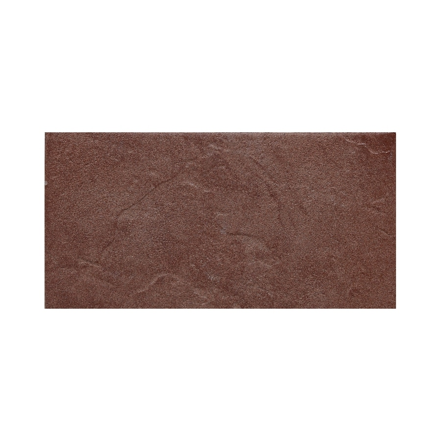 American Olean Shadow Bay Sunset Cove Thru Body Porcelain Bullnose Tile (Common: 8-in x 10-in; Actual: 6-in x 12-in)