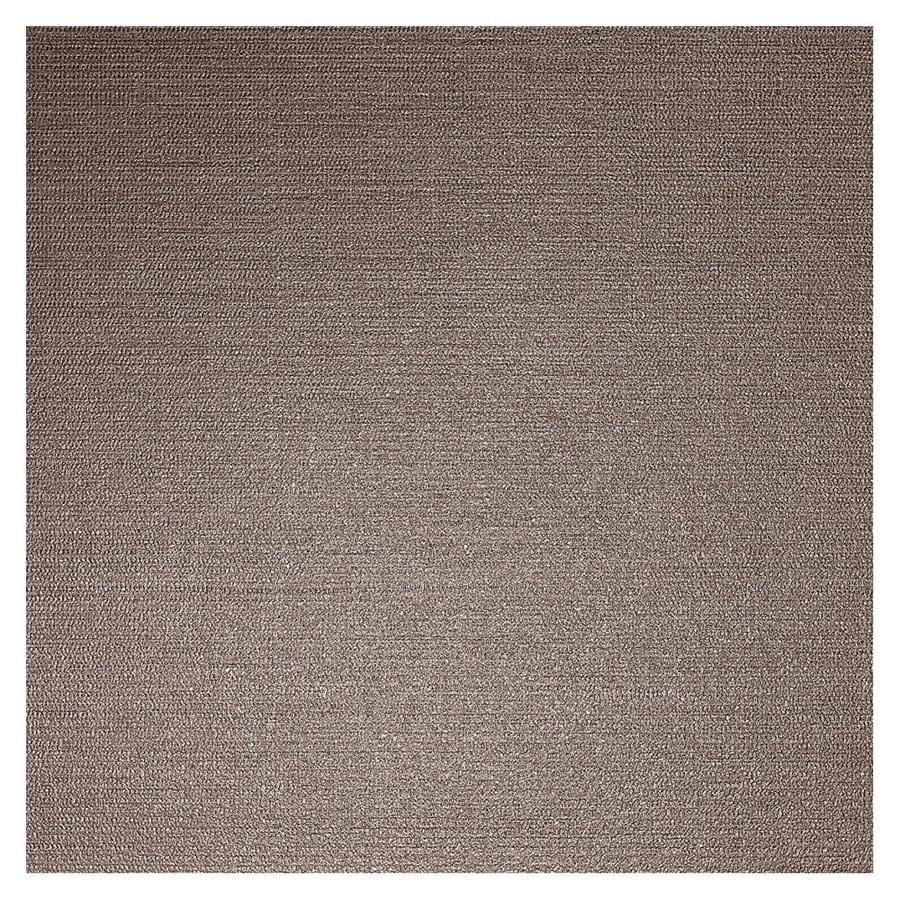 American Olean Infusion 4-Pack Brown Fabric Thru Body Porcelain Floor and Wall Tile (Common: 24-in x 24-in; Actual: 23.5-in x 23.5-in)