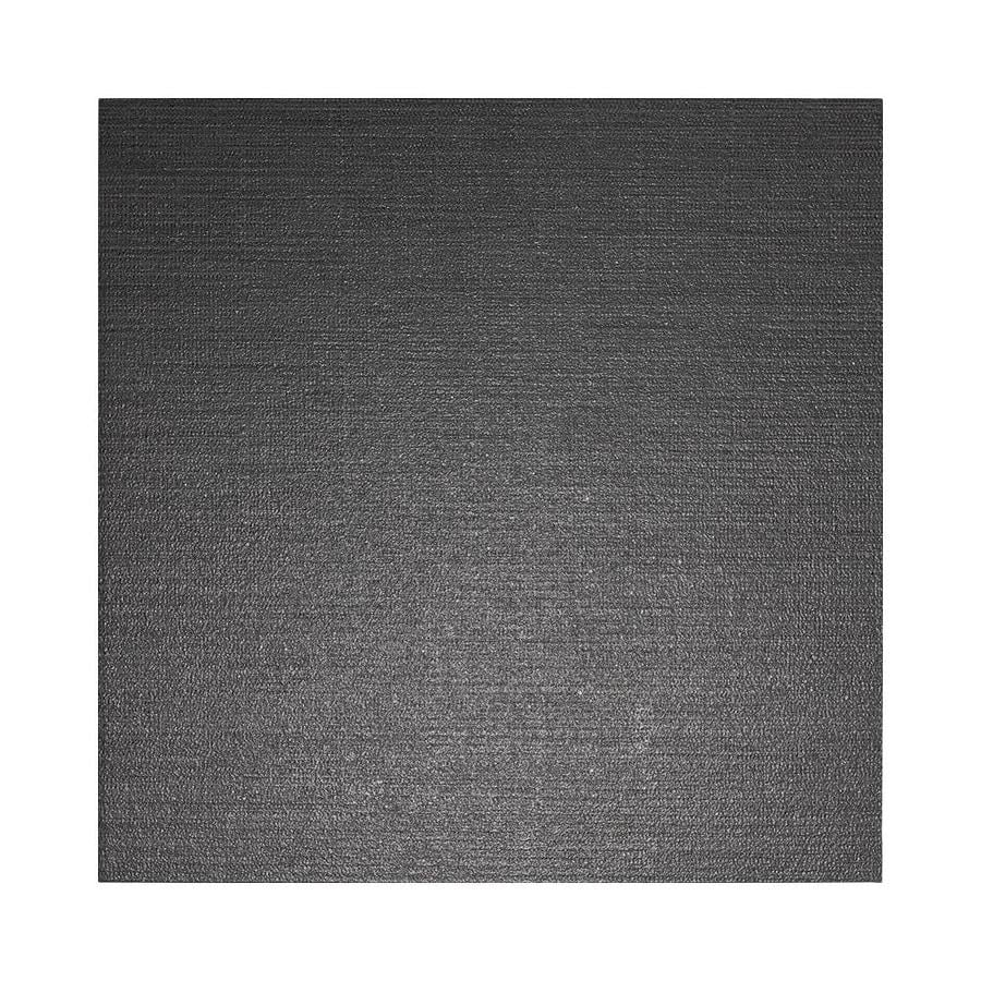 American Olean Infusion 4-Pack Black Fabric Thru Body Porcelain Floor and Wall Tile (Common: 24-in x 24-in; Actual: 23.5-in x 23.5-in)