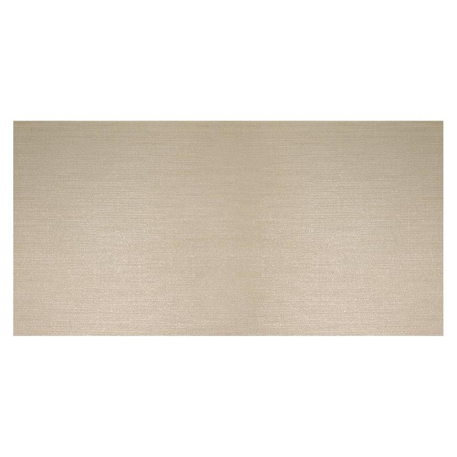 American Olean Infusion 6-Pack Beige Fabric Thru Body Porcelain Floor and Wall Tile (Common: 12-in x 24-in; Actual: 11.75-in x 23.5-in)