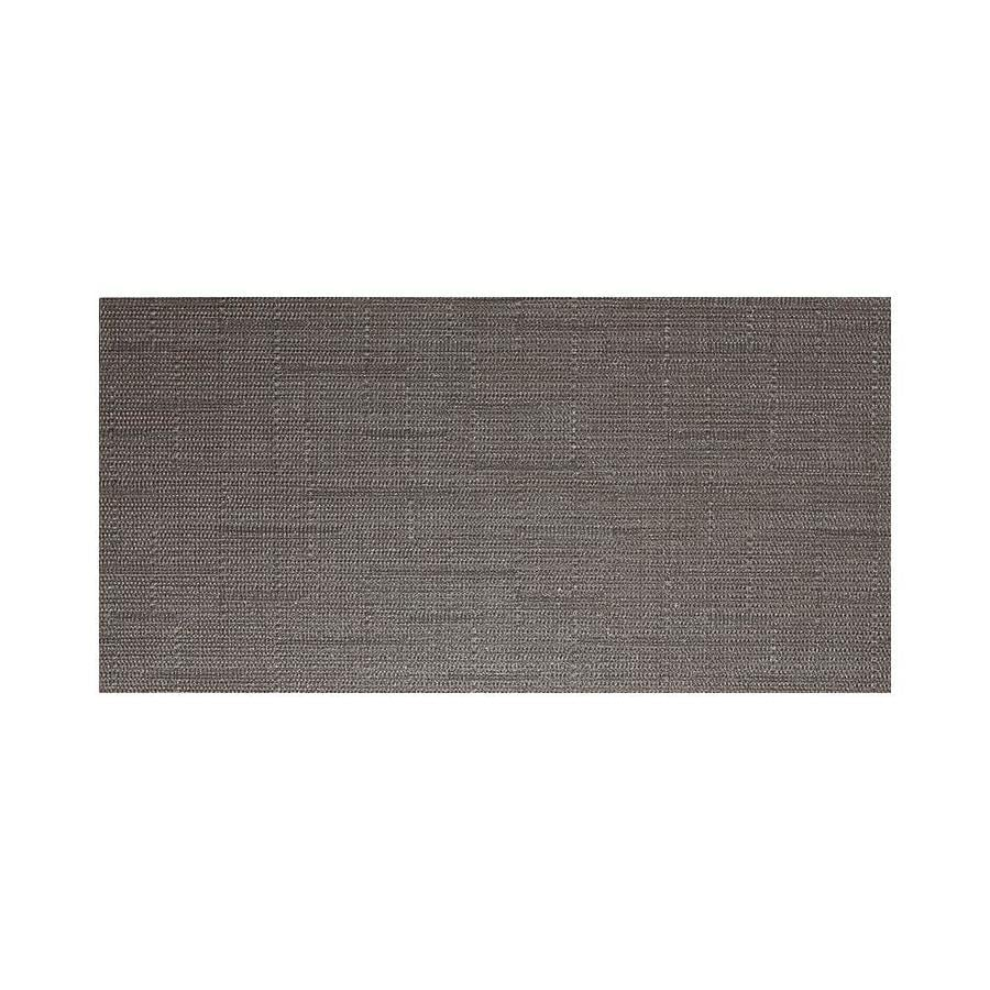 American Olean Infusion 6-Pack Gray Fabric Thru Body Porcelain Floor And Wall Tile (Common: 12-in x 24-in; Actual: 23.5-in x 11.75-in)