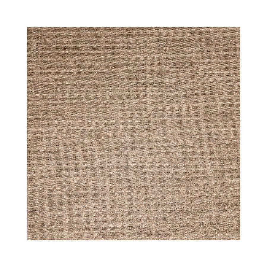 American Olean Infusion 12-Pack Taupe Fabric Thru Body Porcelain Floor and Wall Tile (Common: 12-in x 12-in; Actual: 11.75-in x 11.75-in)
