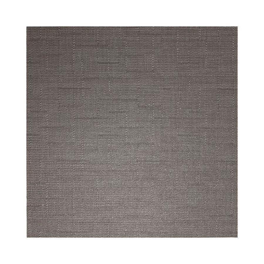 American Olean Infusion 12-Pack Gray Fabric Thru Body Porcelain Floor and Wall Tile (Common: 12-in x 12-in; Actual: 11.75-in x 11.75-in)