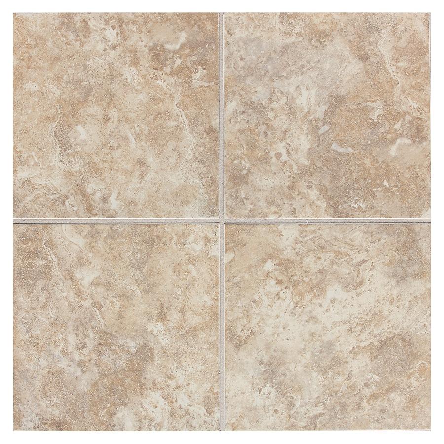 Shop american olean belmar 11 pack cashmere ceramic floor for 12 ceramic floor tile