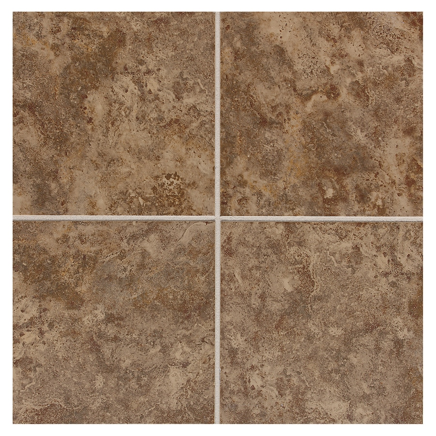 American Olean Belmar 11-Pack Tortouise Ceramic Floor and Wall Tile (Common: 12-in x 12-in; Actual: 11.81-in x 11.81-in)