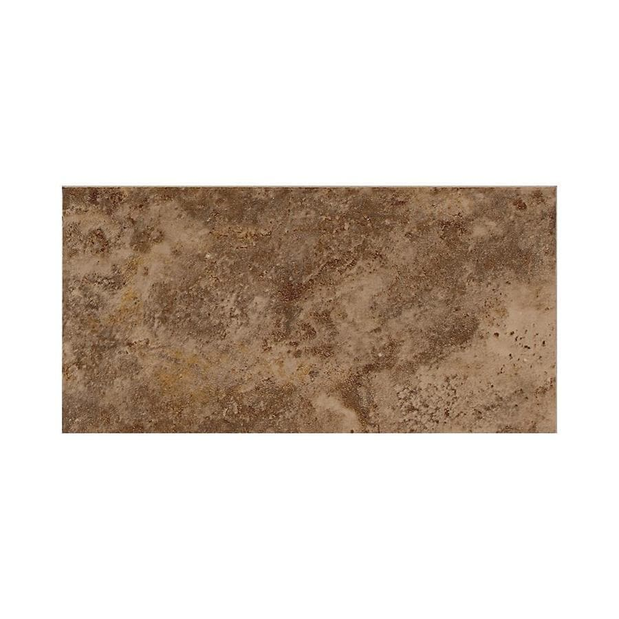 American Olean Belmar 100-Pack Tortoise Ceramic Wall Tile (Common: 3-in x 6-in; Actual: 3-in x 6-in)