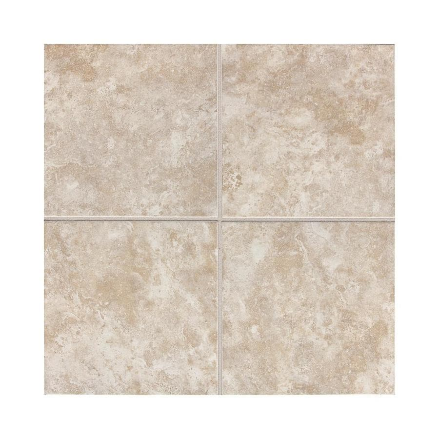 Shop American Olean Belmar 50 Pack Pearl Ceramic Wall Tile Common 6 In X 6