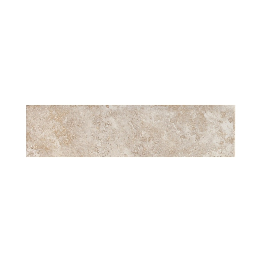 American Olean Belmar Pearl Ceramic Bullnose Tile (Common: 3-in x 12-in; Actual: 3-in x 12-in)