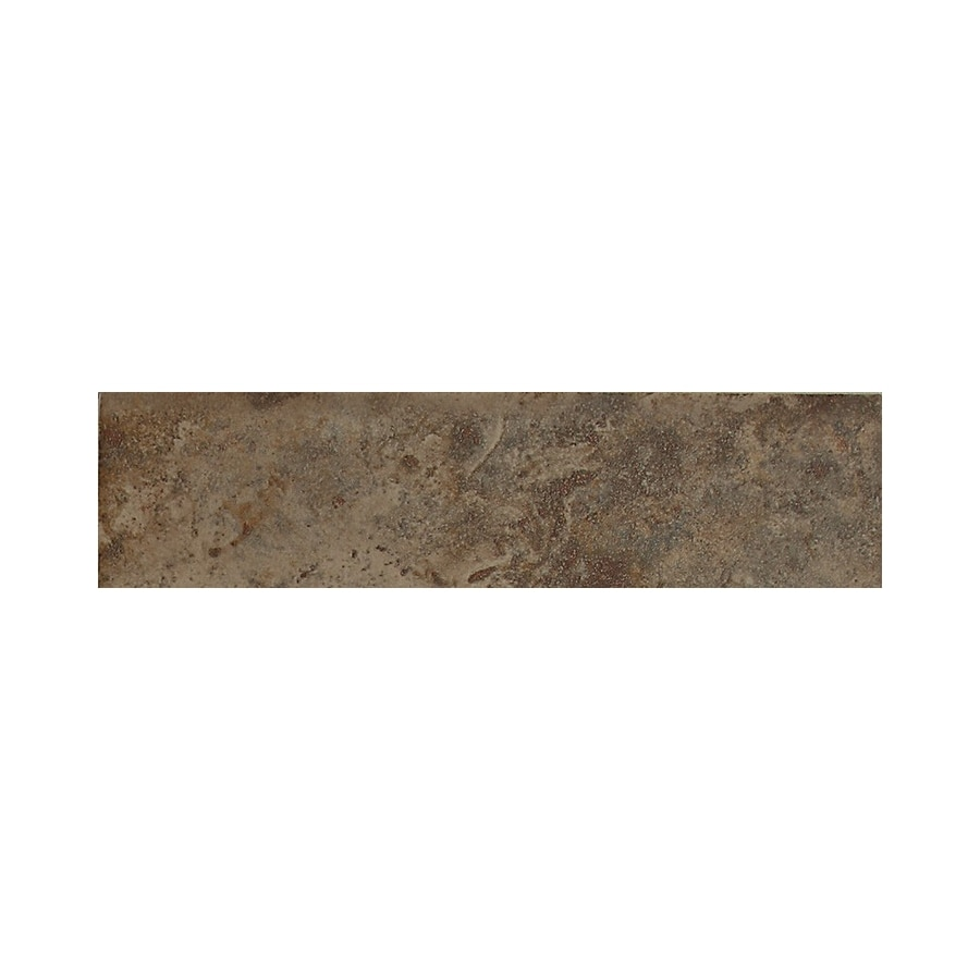 American Olean Belmar Olive Ceramic Bullnose Tile (Common: 3-in x 12-in; Actual: 3-in x 12-in)