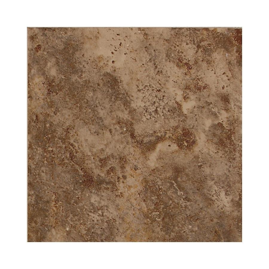 American Olean Belmar Tortouise Ceramic Bullnose Tile (Common: 6-in x 6-in; Actual: 6-in x 6-in)