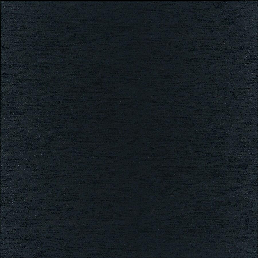 American Olean St Germain 8-Pack Noir Thru Body Porcelain Floor and Wall Tile (Common: 12-in x 24-in; Actual: 12.62-in x 23.43-in)
