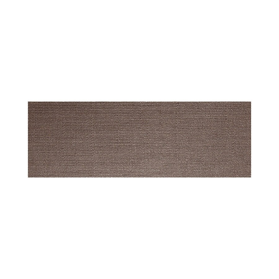American Olean Infusion Brown Fabric Thru Body Porcelain Bullnose Tile (Common: 4-in x 12-in; Actual: 3.95-in x 11.75-in)