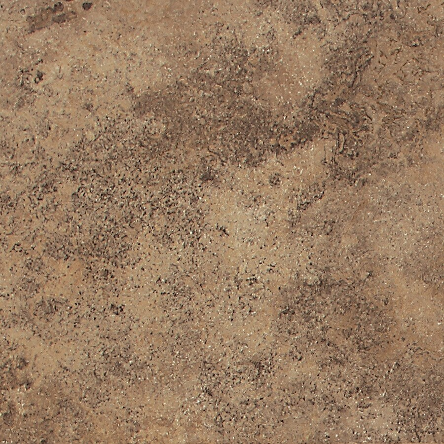 American Olean 11 Pack Montego Pebble Brown Glazed Porcelain Indoor Outdoor Floor Tile
