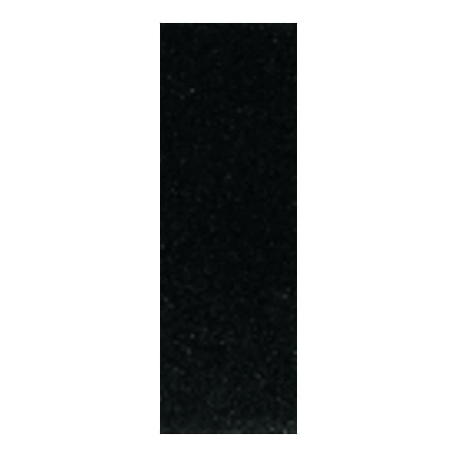 American Olean 36-in x 4-in Absolute Black Natural Marble Threshold Tile