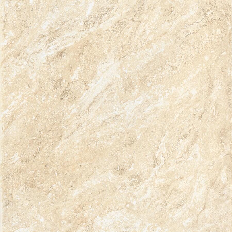 American Olean Salcedo 11-Pack Durango Cream Ceramic Floor and Wall Tile (Common: 12-in x 12-in; Actual: 11.81-in x 11.81-in)