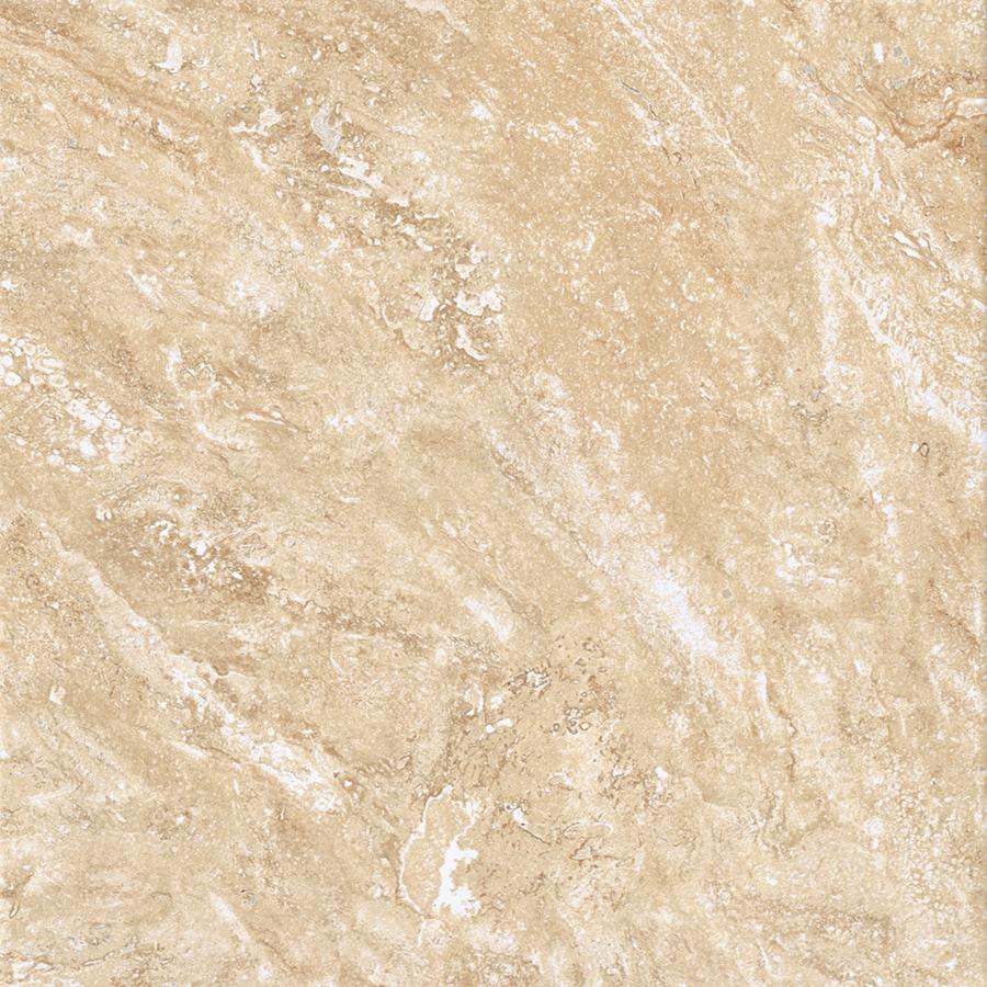 American Olean Salcedo 11-Pack Cortez Beige Ceramic Floor and Wall Tile (Common: 12-in x 12-in; Actual: 11.81-in x 11.81-in)
